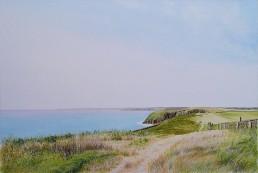 Caldey Island.