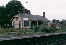 DERELICT WESTERFIELD STATION LATE 70'S