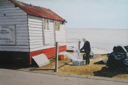 Fisherman's hut.Felixstowe seafront. 2/2.