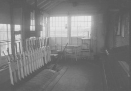 INTERIOR OF REDUNDANT LITTLE BEALINGS SIGNAL BOX