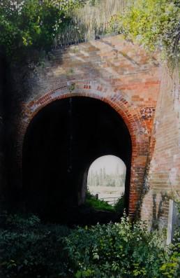 Railway arch. Bourne Hill, Ipswich.