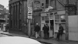 SNACK BAR BELL LANE WHITECHAPEL LATE 70'S